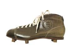 сбор винограда ботинка футбола Стоковые Фото