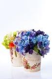 сбор винограда вазы цветка Стоковая Фотография RF