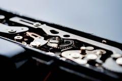 сбор винограда вектора иллюстрации предпосылки ретро механизм шестерен старый Стоковая Фотография RF