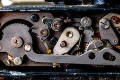 сбор винограда вектора иллюстрации предпосылки ретро механизм шестерен старый Стоковое фото RF