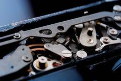 сбор винограда вектора иллюстрации предпосылки ретро механизм шестерен старый Стоковые Фотографии RF