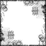 сбор винограда викторианец текста бумаги коллажа предпосылки Стоковая Фотография