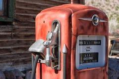 сбор винограда газового насоса Стоковое Изображение RF