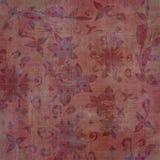 сбор винограда гобелена scrapbook grunge предпосылки богемский флористический Стоковое фото RF