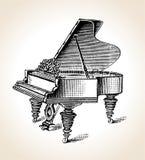 сбор винограда грандиозного рояля Стоковые Изображения RF
