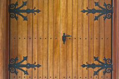 сбор винограда двери деревянный Стоковое Изображение RF
