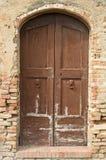 сбор винограда двери устарелый старый Стоковое фото RF