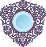 сбор винограда декоративного patt рамки орнаментального триаксиальный Стоковое Изображение RF