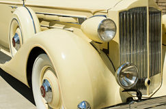 сбор винограда детали автомобиля стоковое изображение
