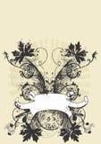 сбор винограда знамени иллюстрация штока