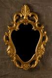 сбор винограда золота рамки Стоковое фото RF