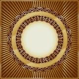 сбор винограда золота рамки бесплатная иллюстрация