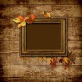 сбор винограда изображения рамки предпосылки деревянный Стоковое Изображение RF