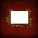 сбор винограда изображения grunge рамки предпосылки Стоковые Фото