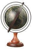 сбор винограда изолированный глобусом стоковые фото