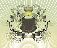сбор винограда иллюстрации королевский Стоковые Изображения RF