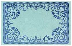 сбор винограда карточки декоративный богато украшенный Стоковое Изображение