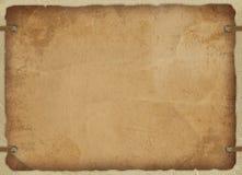 сбор винограда карточки старый бумажный Стоковое Изображение RF