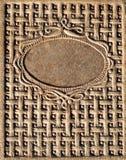 сбор винограда кожи крышки книги Стоковое Изображение