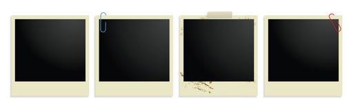 сбор винограда комплекта пленки 4 фотографический Стоковое Изображение RF
