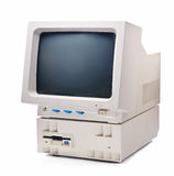сбор винограда компьютера личный Стоковые Фото