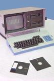 сбор винограда компьютера Стоковое Изображение RF
