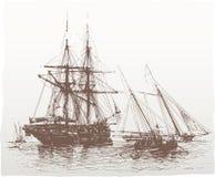 сбор винограда корабля Стоковые Фото