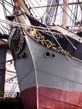 сбор винограда корабля prow Стоковое Изображение RF