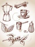 сбор винограда кофе Стоковая Фотография RF