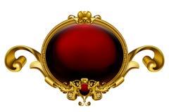 сбор винограда красного цвета рамки иллюстрация штока