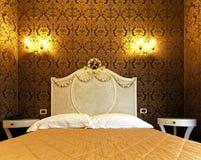 сбор винограда кровати головной Стоковое Изображение RF