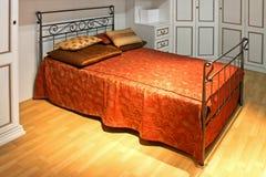 сбор винограда кровати Стоковые Фотографии RF