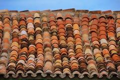 сбор винограда крыши детали Стоковая Фотография