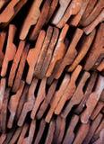 сбор винограда крыши панелей Стоковая Фотография