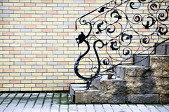 сбор винограда лестниц Стоковое Изображение