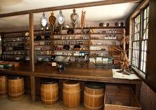 сбор винограда магазина сухих товаров Стоковая Фотография RF