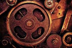 сбор винограда механизма шестерен Стоковое Изображение RF