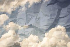 сбор винограда неба изображения Стоковая Фотография