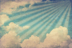 сбор винограда неба изображения Стоковое фото RF