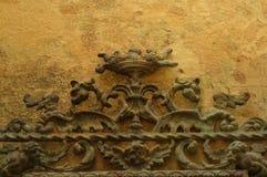 сбор винограда орнамента металла grunge стоковые изображения