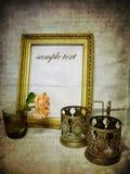 сбор винограда открытки grunge предпосылки стоковая фотография