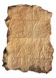 сбор винограда пергамента предпосылки Стоковое Фото