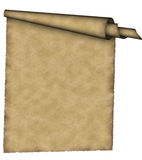 сбор винограда пергамента Стоковые Фото
