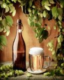сбор винограда пива Стоковые Изображения