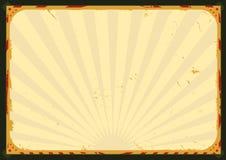 сбор винограда плаката предпосылки Стоковая Фотография