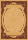 сбор винограда плаката цирка церков предпосылки Стоковая Фотография RF