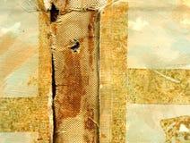 сбор винограда поваренной книги grungy стоковая фотография