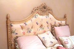 сбор винограда подушек кровати Стоковая Фотография RF