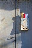 сбор винограда почтового ящика предпосылки старый Стоковые Фото