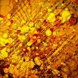 сбор винограда предпосылки абстрактного искусства Стоковые Фото